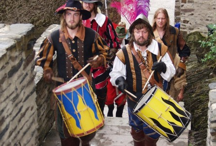 Mittelalter-Fest in Vianden, Luxemburg