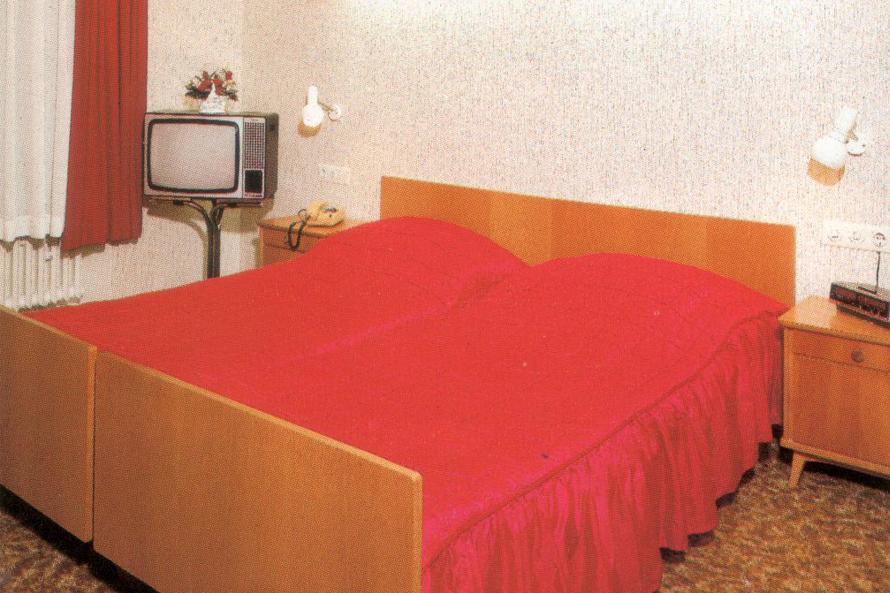 Historisches Zimmer im Hotel Meyer, Luxemburg