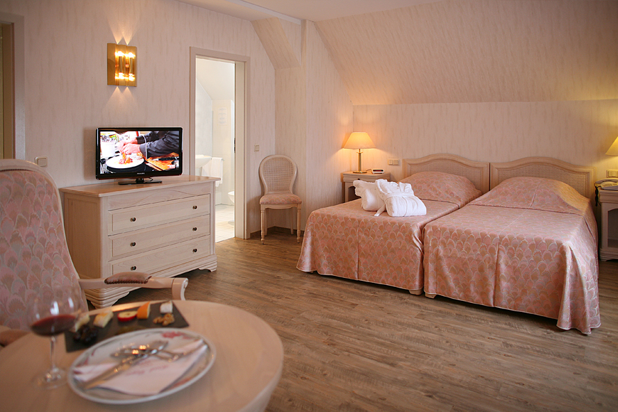 Anti Allergic Floor in a Double Room, Beaufort Luxembourg